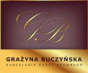 Kancelaria radcy prawnego - Grażyny Buczyńskiej